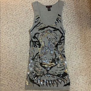Sequence Tiger Tank Top.